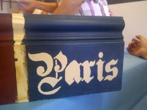Pretty Paris Stencilling