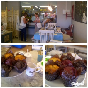 All chalk and no cake, makes Trax a dull painter- fortunately Ilana serves up awesome coffee and cake!