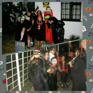 Halloween 2008 & 2009: Always extra super fun with the kids!