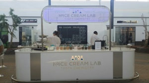 Full shot of the lab...errr...ice cream store.