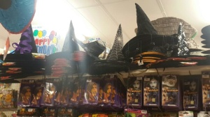 Brilliant witches hat selection.