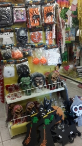 Lots of masks to choose from.