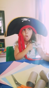 Eager artist, or friendly pirate in the mood for crafts will do.