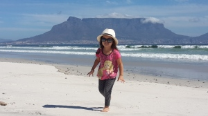 Two beauties: My beasty and Table Mountain