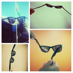 Yoga for sunglasses: Virtually indestructable
