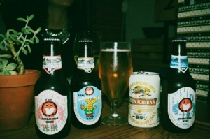 Beer selection: For those who enjoy a great selection of beers, you will not be disappointed. Little bummed I didnt get to try the sake..#designateddriver #beresponsible