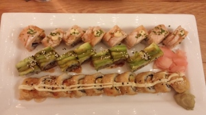 """All this sushi, we're going to need a bigger stomach...""""We're going to need a bigger boat."""" #jaws #misquotes"""