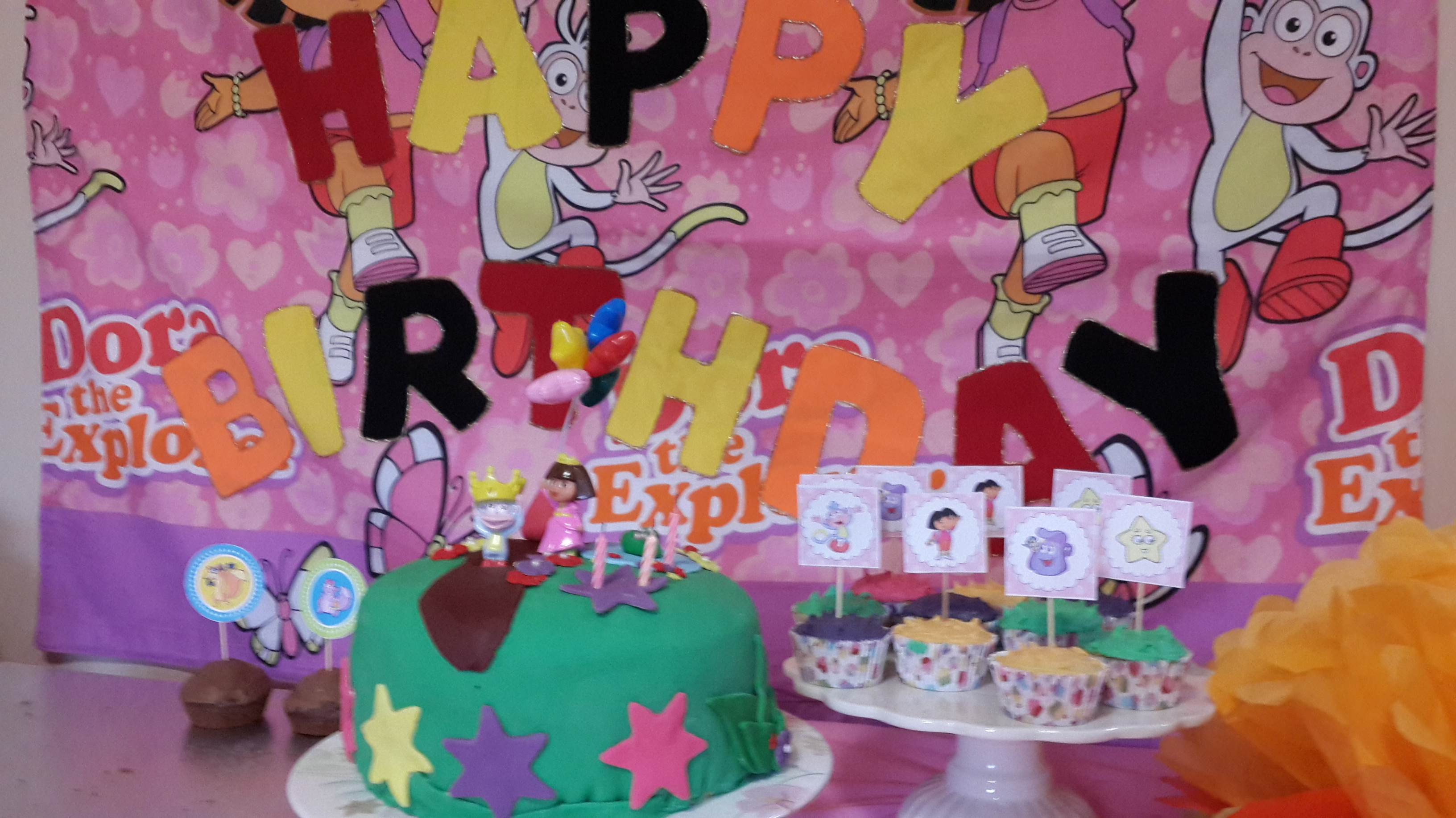 MorganLees Dora the Explorer Birthday Party Ideas Free Templates