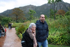 Mothers day walk about with Carol, well in her 90's