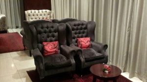 Piano lounge, giving you a luxurious place to ...lounge around in.