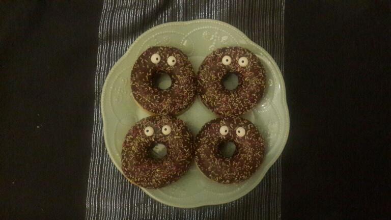 Doughnut monsters