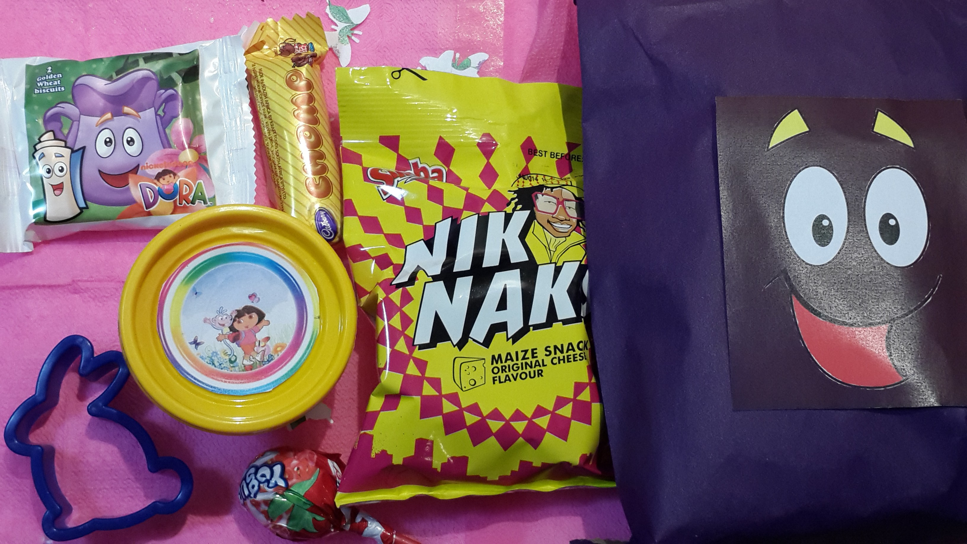 How to make your own Dora the Explorer Backpack, some fun party game Im The Map Dora on fiesta dora the explorer map, cartoon dora the explorer map, dora's map,