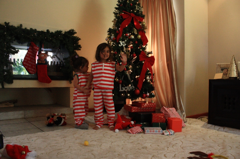 Girls enjoyed playing with the self-timer of my cam