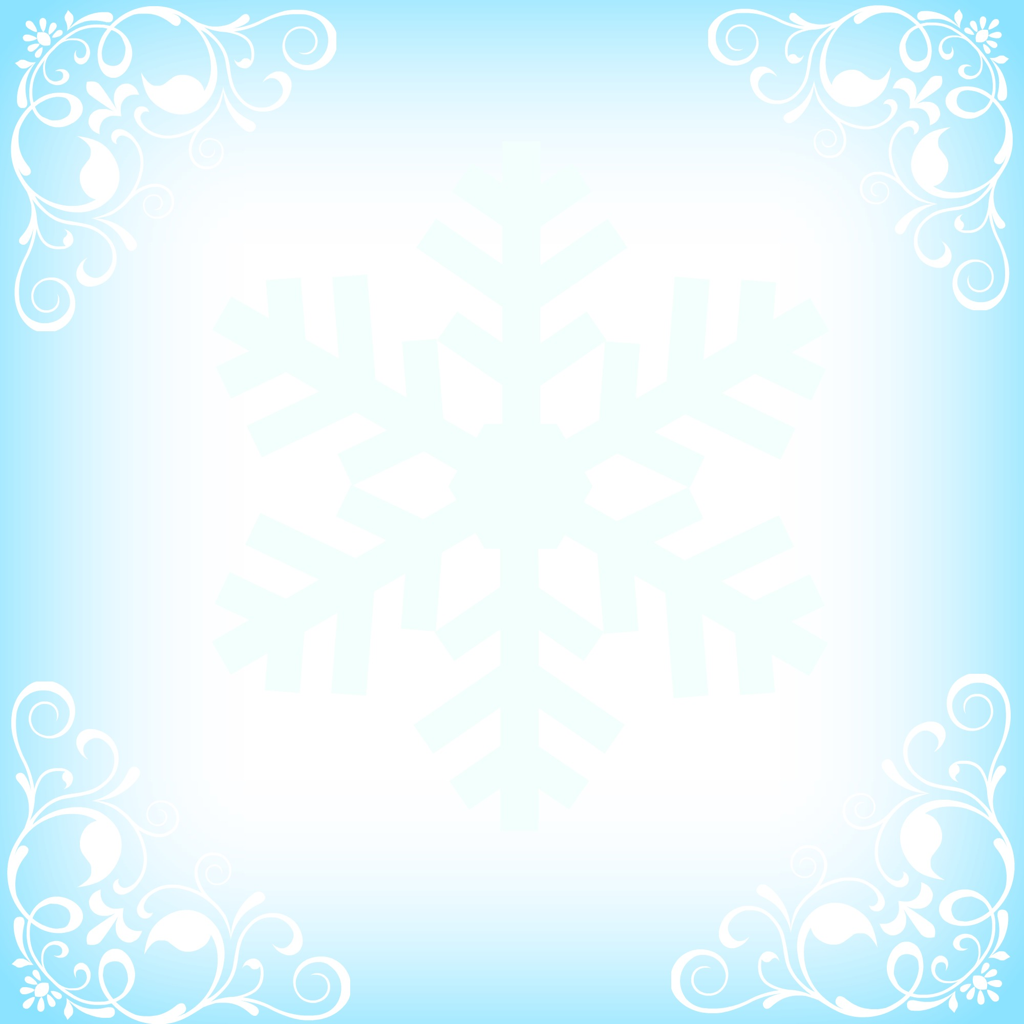 snowflakeCardorlabel