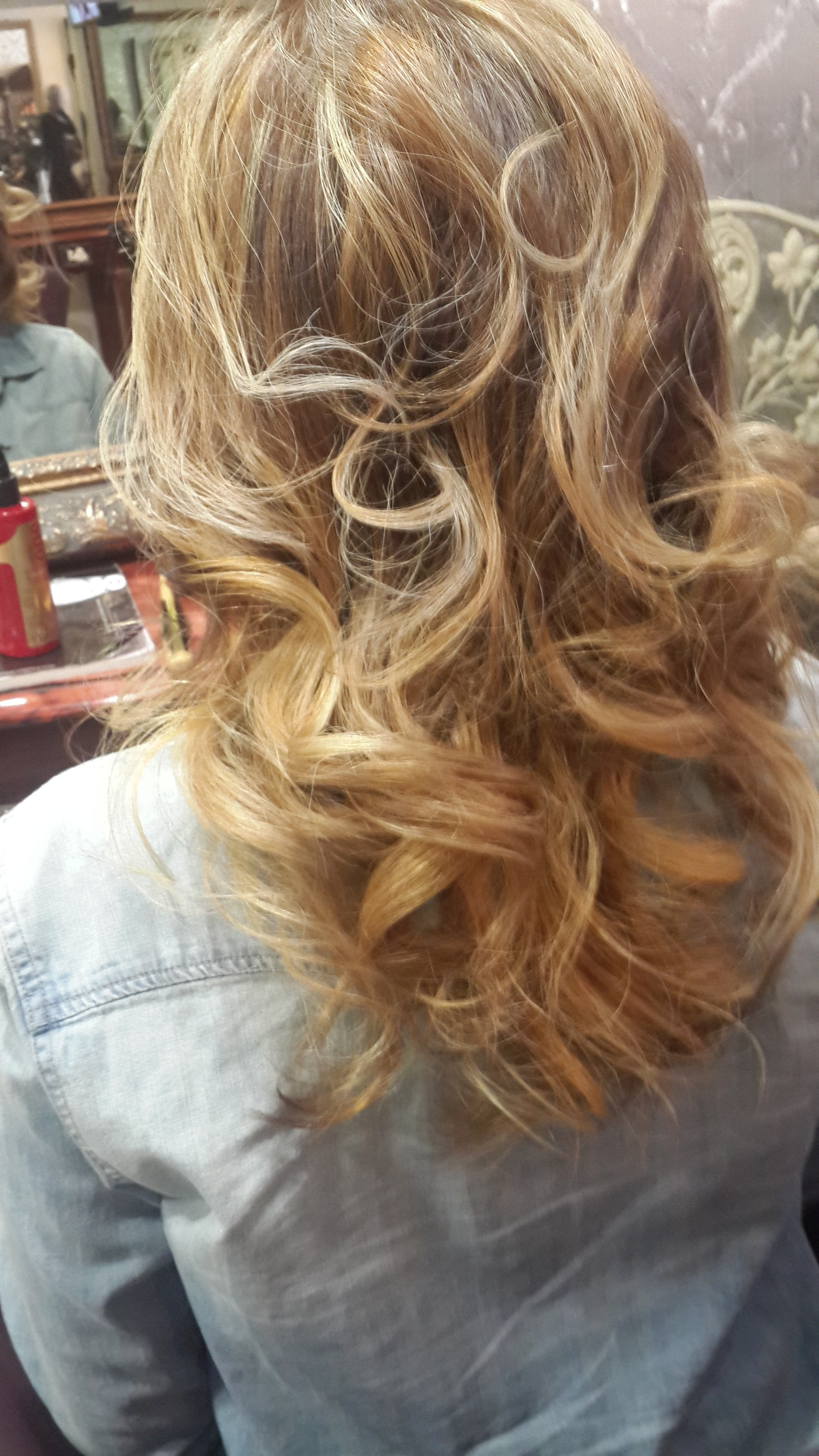 Blonde First time