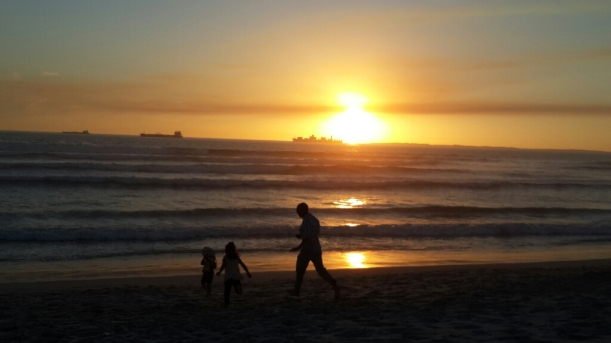 Sunsets: I want my children to always be in wonder and take delight in the world that we live in.