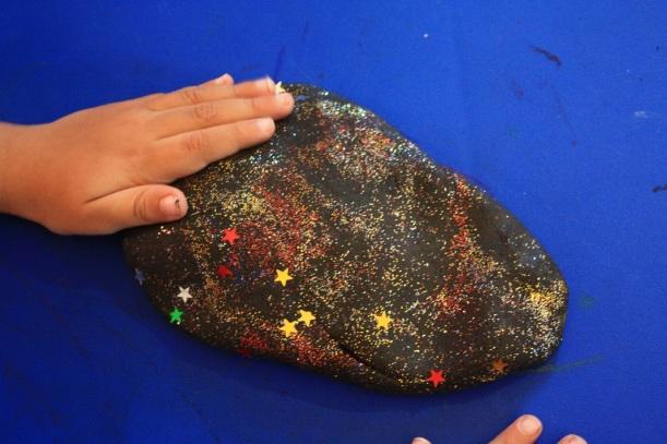 Starry Night Sky Dough
