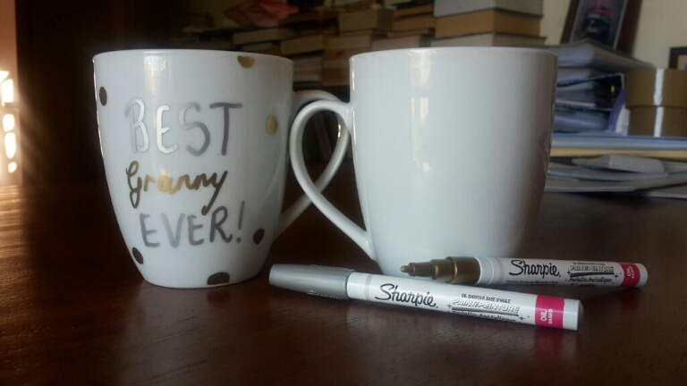 What you will need:Mugs & Sharpies are you base needs