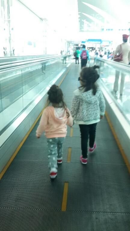 travelator sisters