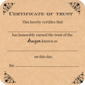 CertificateOfDragonTrust