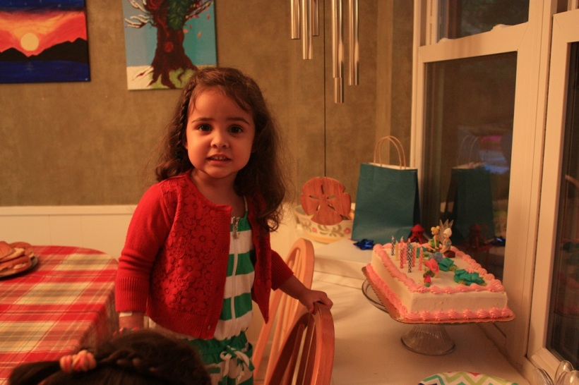 """She stared at that cake for like two minutes straight, then turned to me and said, """" Mom, I think I need a fork."""""""